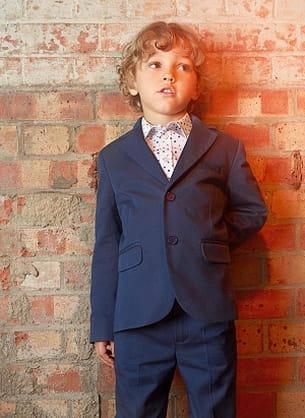 costume bleu navy paul smith junior