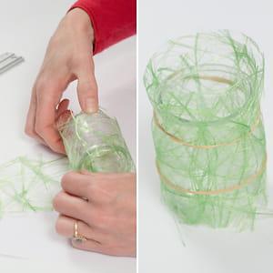fixer la fibre de soie