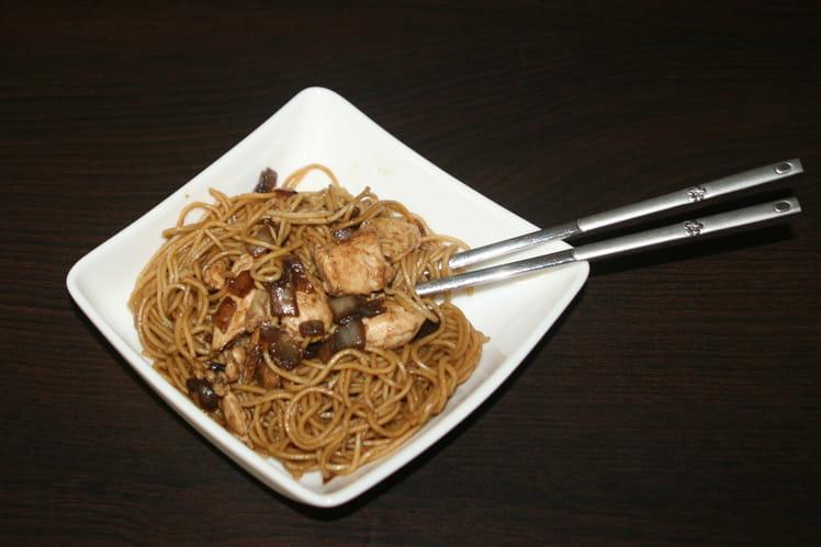 Nouilles chinoises aux oignons