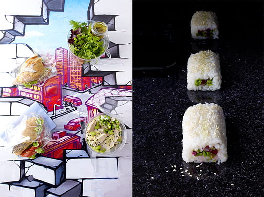 Graffiti food