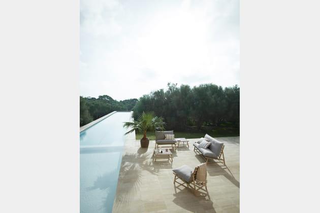 Faire du bambou un allié de choix côté piscine avec Tine K Home