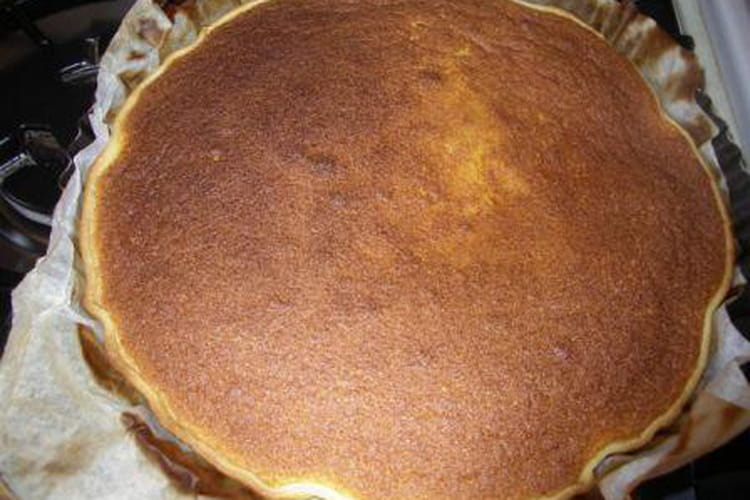 Tarte au potiron, crème fraîche et cannelle