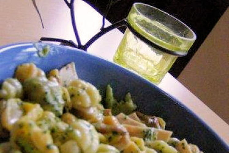 Macaronis au brocoli