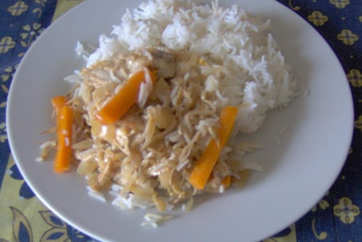 Sauté de poulet au gingembre