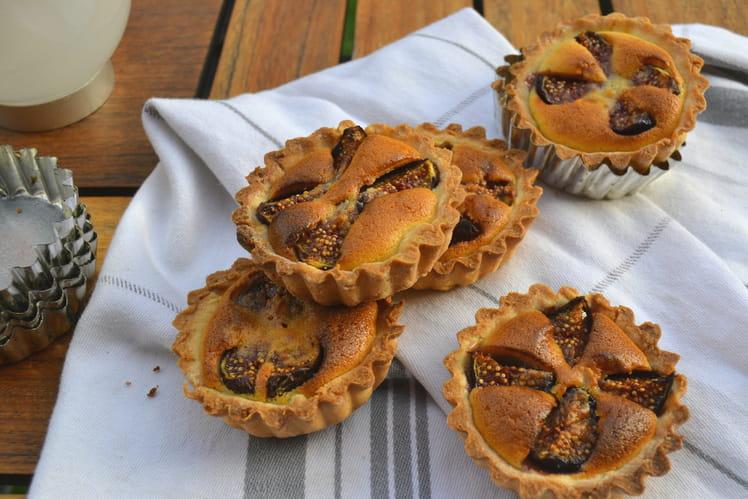 Tartelettes aux figues fraîches