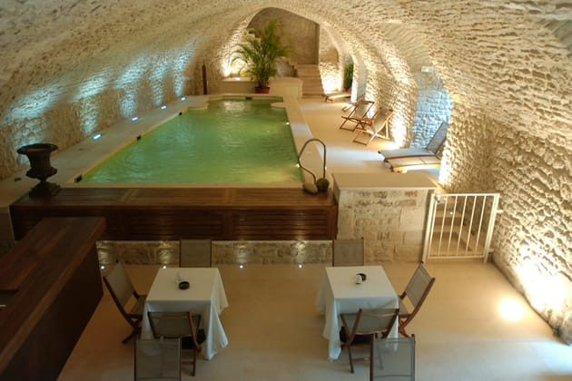 La piscine pour buller