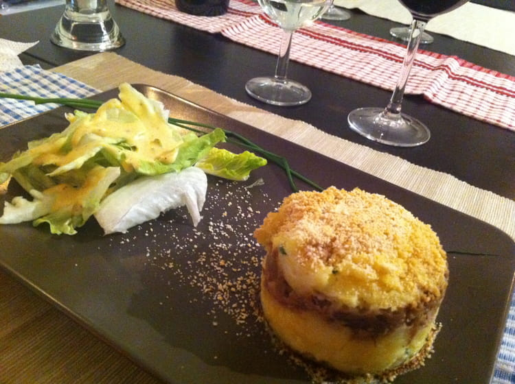 recette de parmentier de confit de canard au foie gras la recette facile. Black Bedroom Furniture Sets. Home Design Ideas