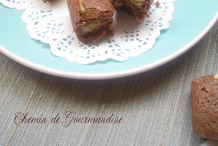Brownie à la pâte d'amande