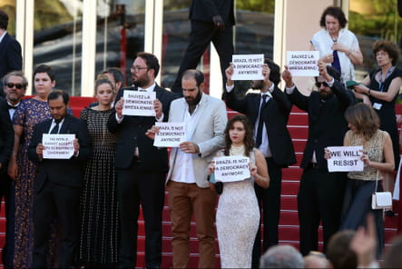 "L'équipe d'""Aquarius"" soutient Dilma Roussef"
