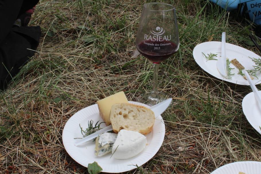 Fromage et vin, des accords sur un plateau