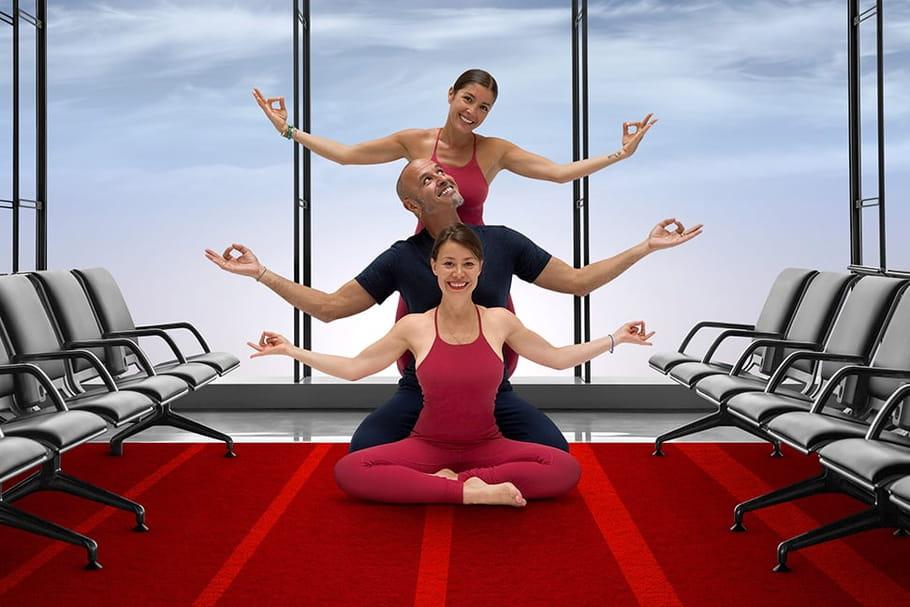 Paris Aéroport offre des séances de yoga à ses voyageurs