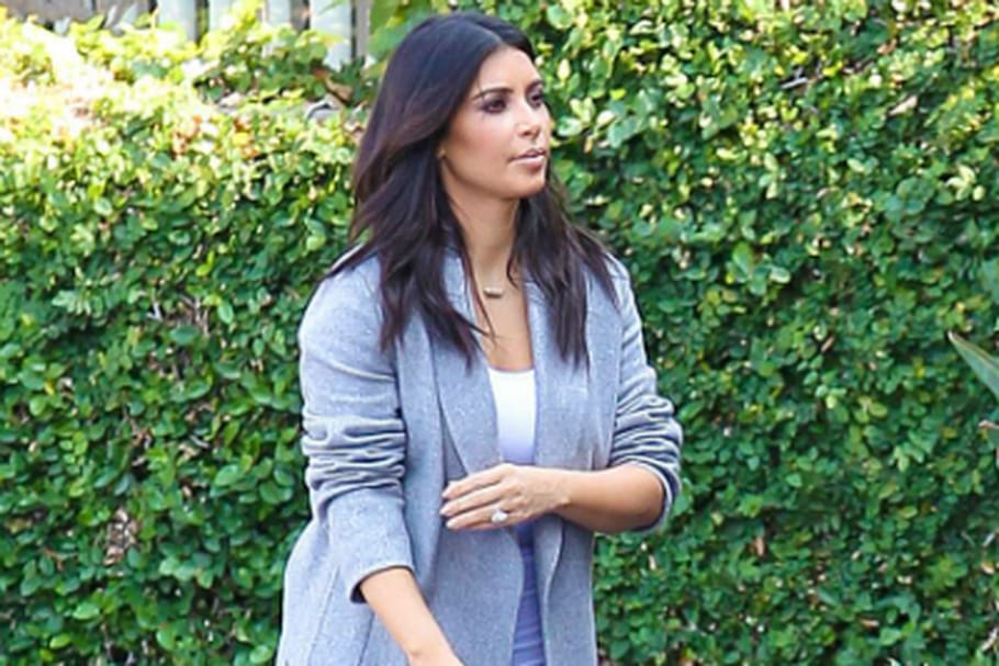 Le look people du jour : Kim Kardashian et son Herbag customisé par North West