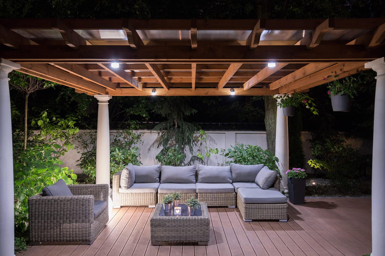 Le patio, un espace végétalisé au cœur de la maison