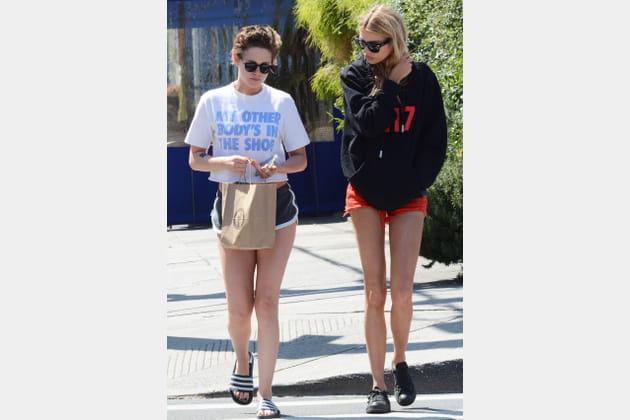 Avec sa petite amie actuelle, Stella Maxwell