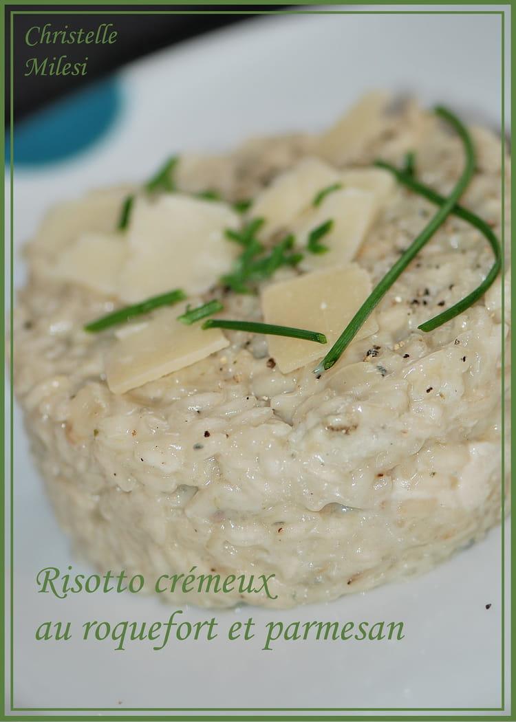 recette de risotto cr meux au roquefort et parmesan. Black Bedroom Furniture Sets. Home Design Ideas