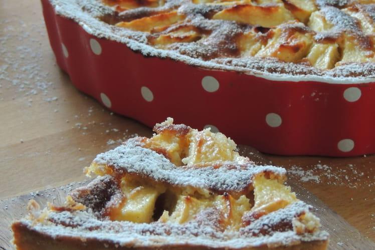 Tarte aux pommes normande gourmande