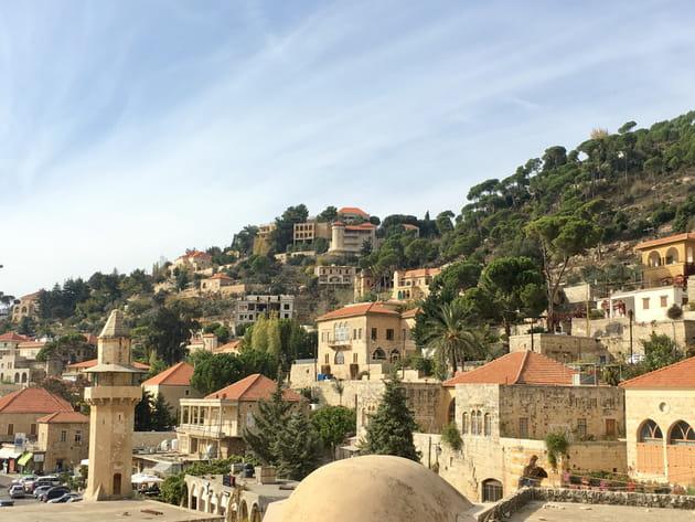 Deir-el-Qamar, village de pierres
