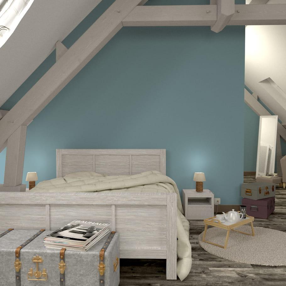 peinture cromaline chez 4 murs quelle couleur de peinture pour ma chambre journal des femmes. Black Bedroom Furniture Sets. Home Design Ideas