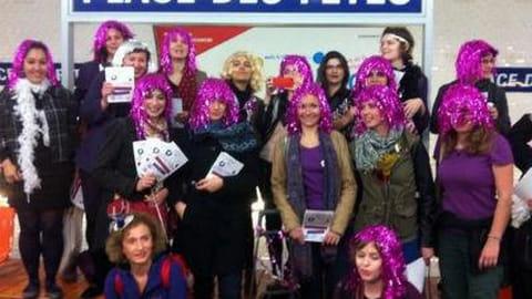 Féministe métro contre violences sexuelles
