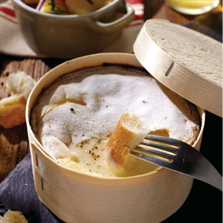 Recette de mont d 39 or cr meux salade de pommes de terre - Temps cuisson mont d or ...