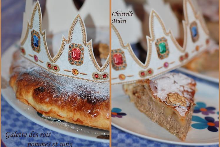 Galette des rois pommes et noix