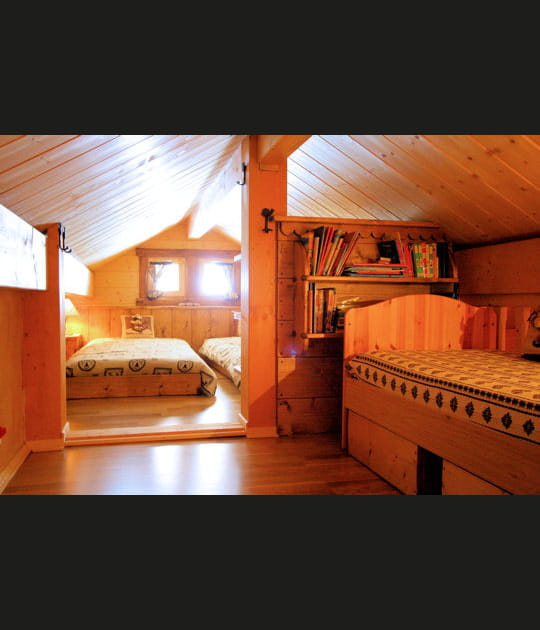 Une cabane dans le grenier