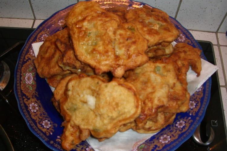 Pataniscas (galette de morue)