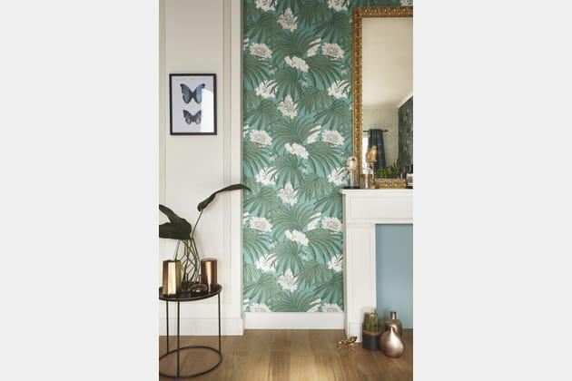 Papier peint Palm Leaves par Leroy Merlin