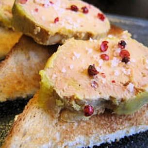 ballotins de foie gras