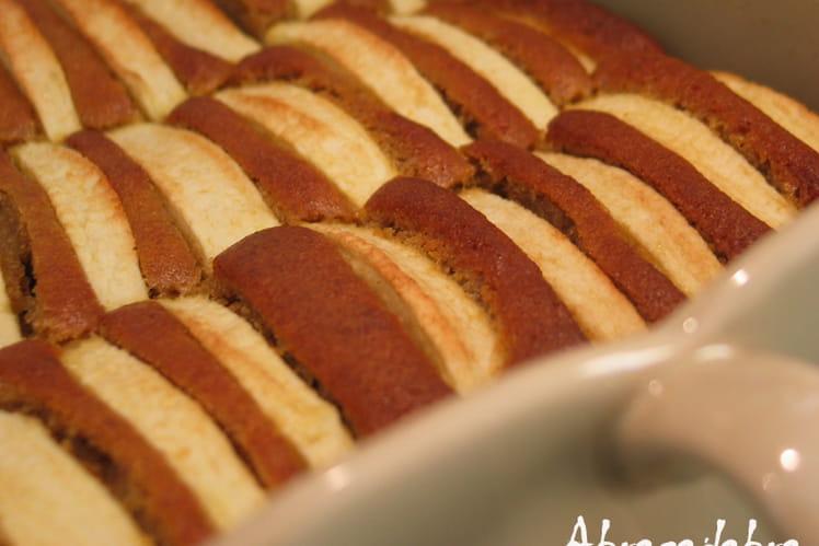 Gâteau moelleux aux pommes 100% bio