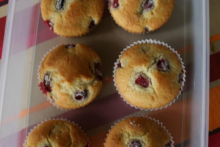 Muffins aux fruits rouges surgelés