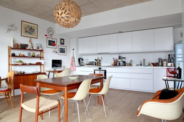 Une cuisine en rondeurs