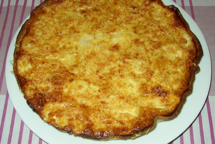 Tarte mozzarella et bolognaise