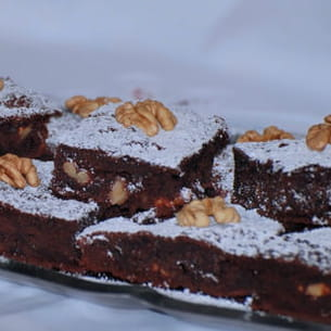 brownies choco-marron-noix