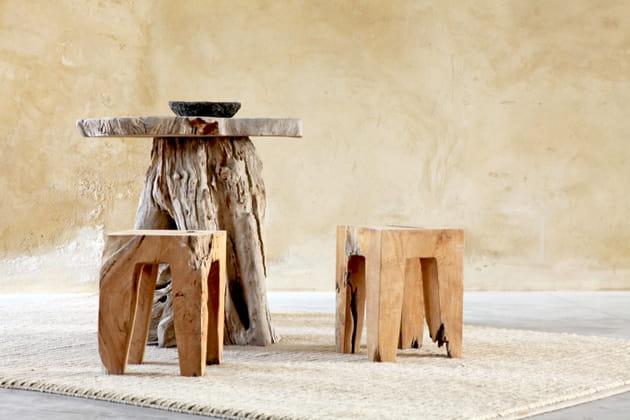 Meubles en bois flotté