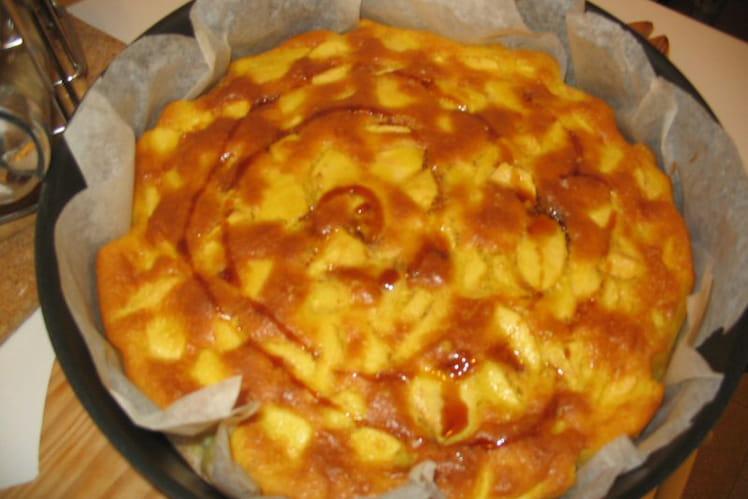 Gâteau moelleux pommes/poires