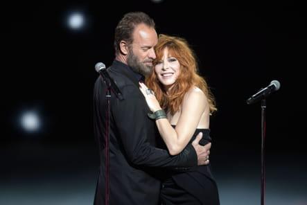 Mylène et Sting, un duo complice