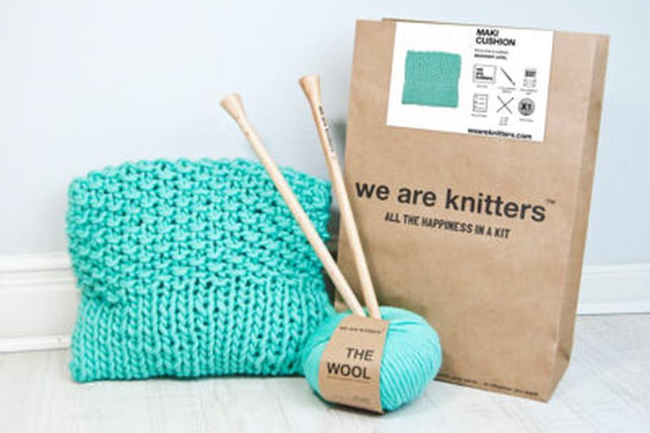 L'objet du désir : le kit tricot Maki Cushion de We are knitters