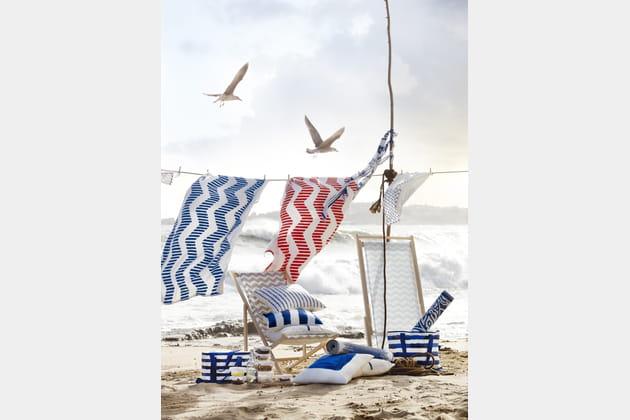 Serviette de plage Sommar d'IKEA