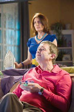 liliane et josé dans l'épisode 'macho man'.