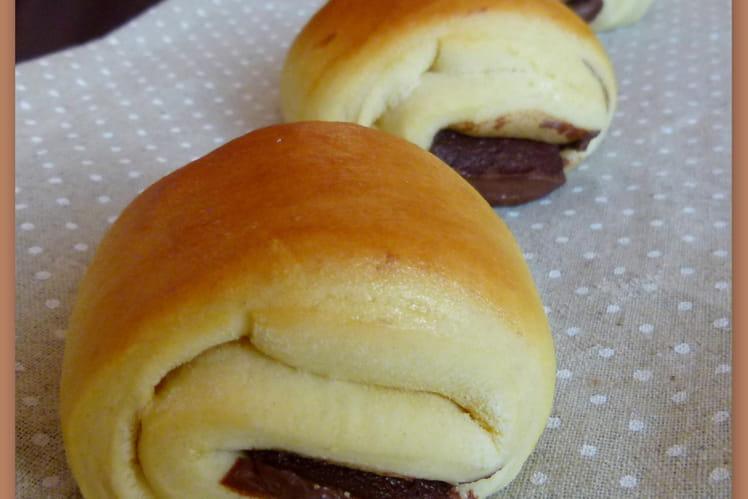 Briochettes au Nutella façon chocolatines