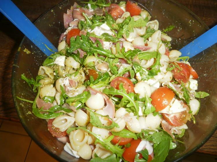 Recette salade de p tes l 39 italienne salade m diterran enne - Cuisine italienne pates ...