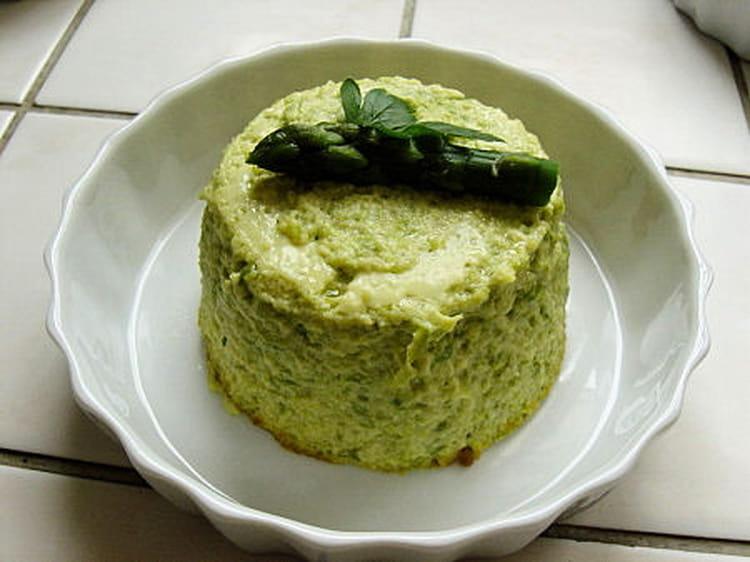 Flan aux asperges et au parmesan - Cuisiner les asperges vertes ...
