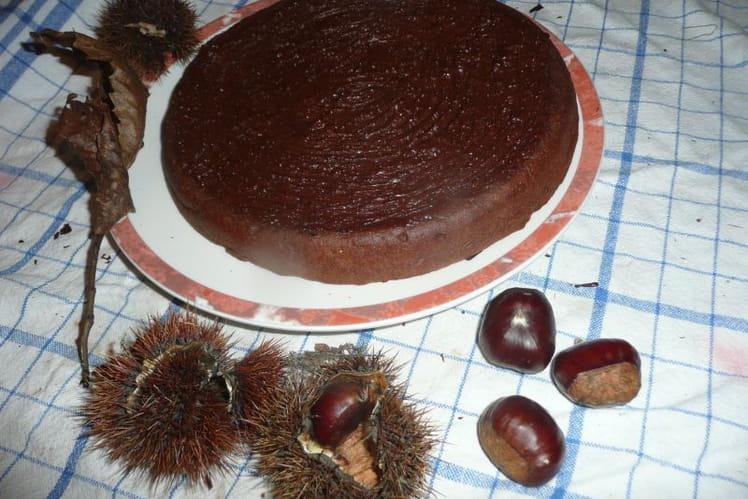 Gâteau de châtaignes sans gluten