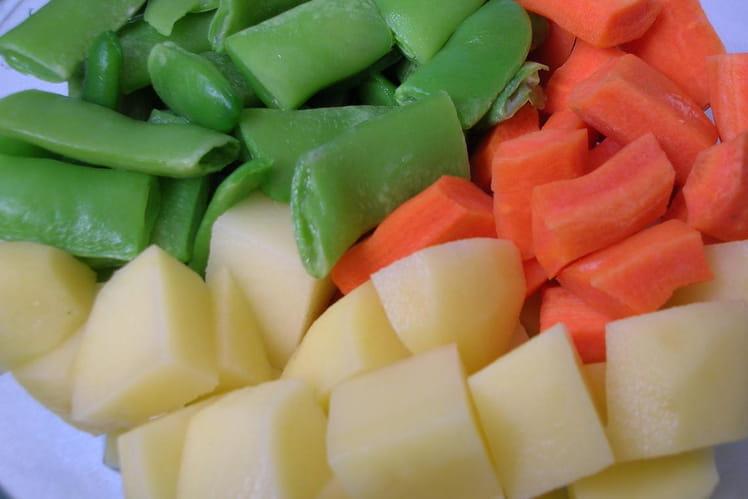 Jardinière de légumes aux 3 couleurs