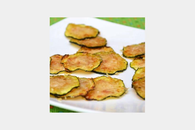Recettes de chips et frites de légumes