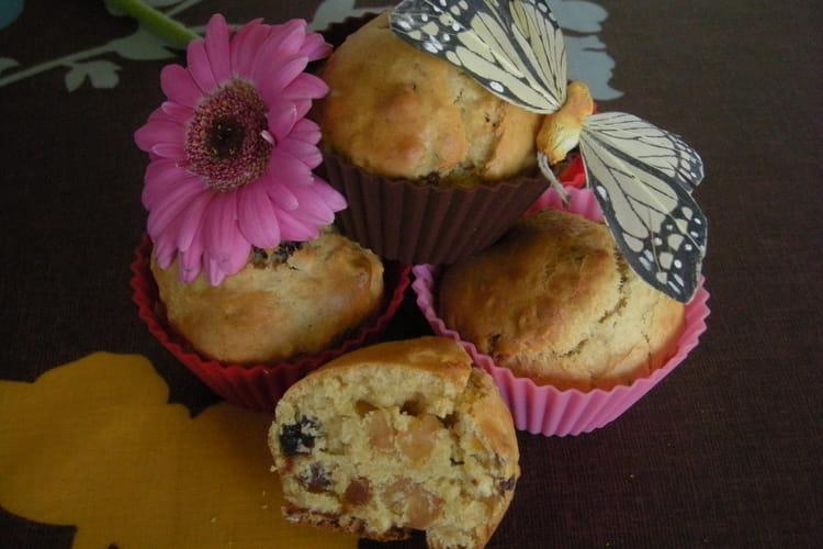 Muffins diététiques aux fruits secs
