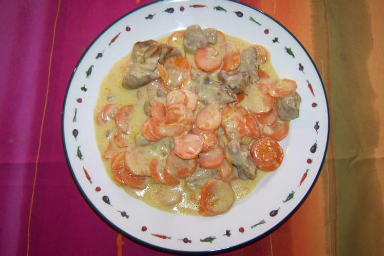 Sauté de dinde aux carottes