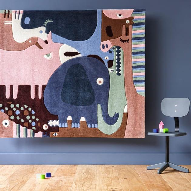 Tapis Puzzle Animals par Art for kids