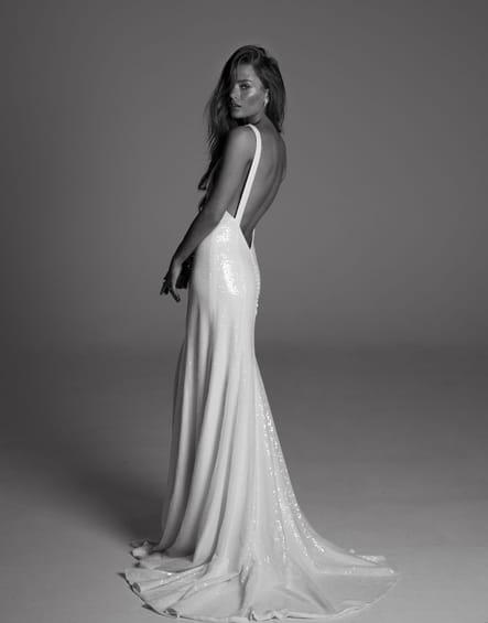 Robe de mariée Pearl, de dos